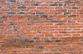 pared de ladrillo comun